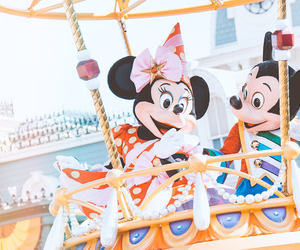 mickey mouse, minnie mouse, and magic kingdom image
