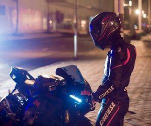 bike, black, and biker image