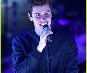 performance, smile, and shawn mendes image