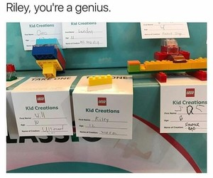 clever, funny, and genius image