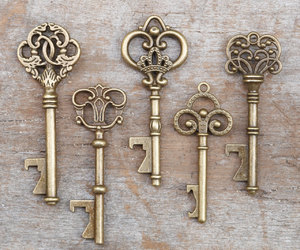 etsy, skeleton keys, and vintage keys image