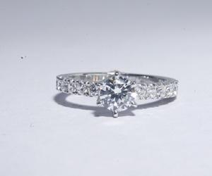 beautiful, diamonds, and engagement image