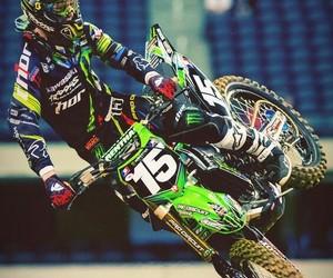 biker and motocross image