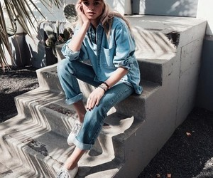 cool, style, and denim image