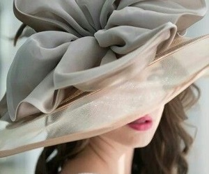 fashion, hat, and girly image