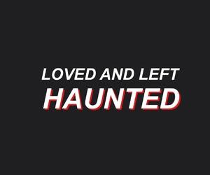 grunge, haunted, and Lyrics image