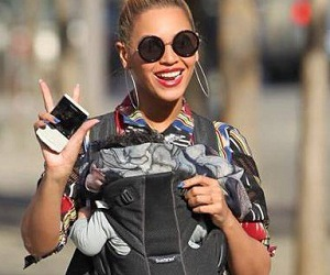 beyonce with blue ivy image