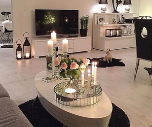 candles, decor, and home image