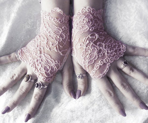 arm warmers, fashion, and pink image