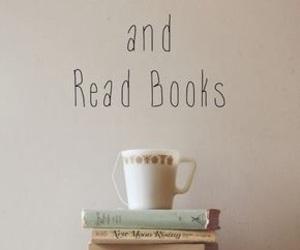 book, tea, and keep calm image