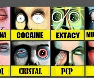 drugs, cocaine, and ecstasy image