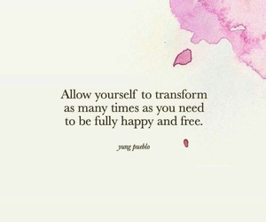 change, quote, and transformation image