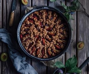 cake, food, and plum image