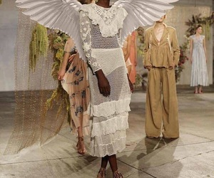 fashion, model, and angel image