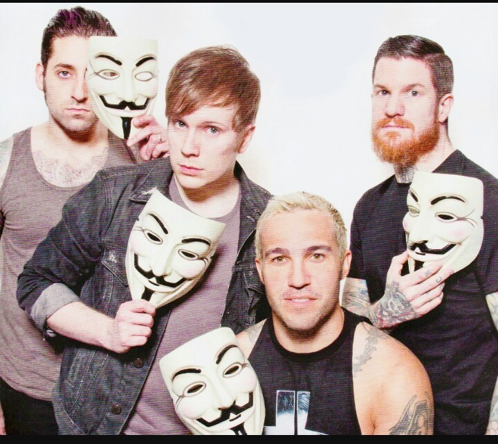 band, fall out boy, and music image