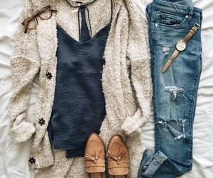 outfit, style, and shoes image