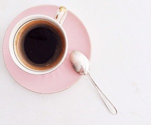 coffee and pink image