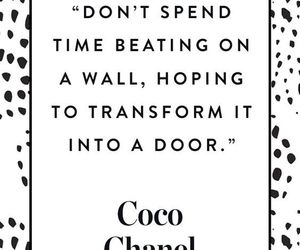 chanel, fashion, and quote image