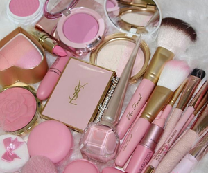 pink, beauty, and makeup image