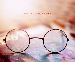 harry potter, book, and glasses image