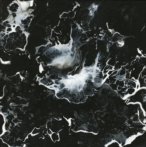 black, water, and black and white image