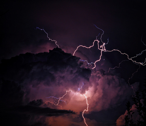 sky, storm, and tumblr image