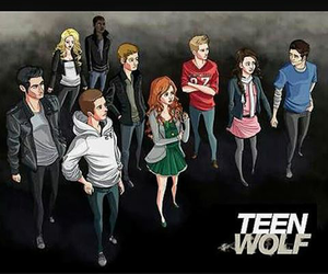 wolf, teenwolf, and tvseries image
