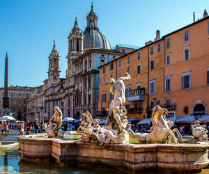 arte, piazza navona, and roma image
