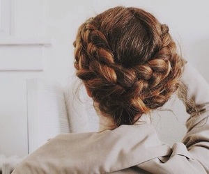 aesthetic, brown, and hairstyle image