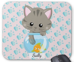 cat lovers, mousepads, and computer accessories image