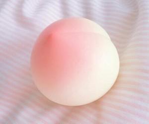 kawaii, pink, and peach image