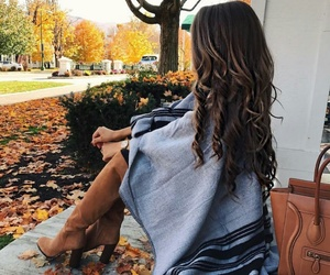 fashion, girl, and autumn image