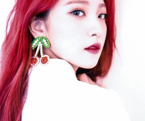 beautiful, red hair, and red velvet image