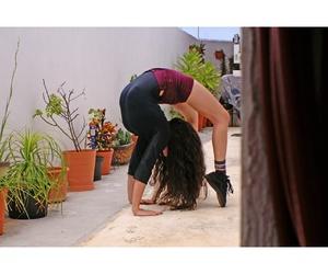 girl, gym, and gymnastics image