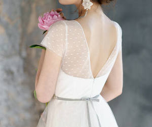 etsy, wedding dress, and wedding gown image