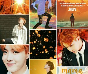 aesthetics, orange, and bts image