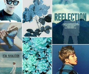aesthetics, bts, and rapmonster image