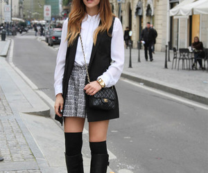 hat, outfit, and stylish outfit image