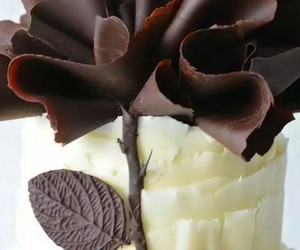 chocolate, comida, and dark chocolate image