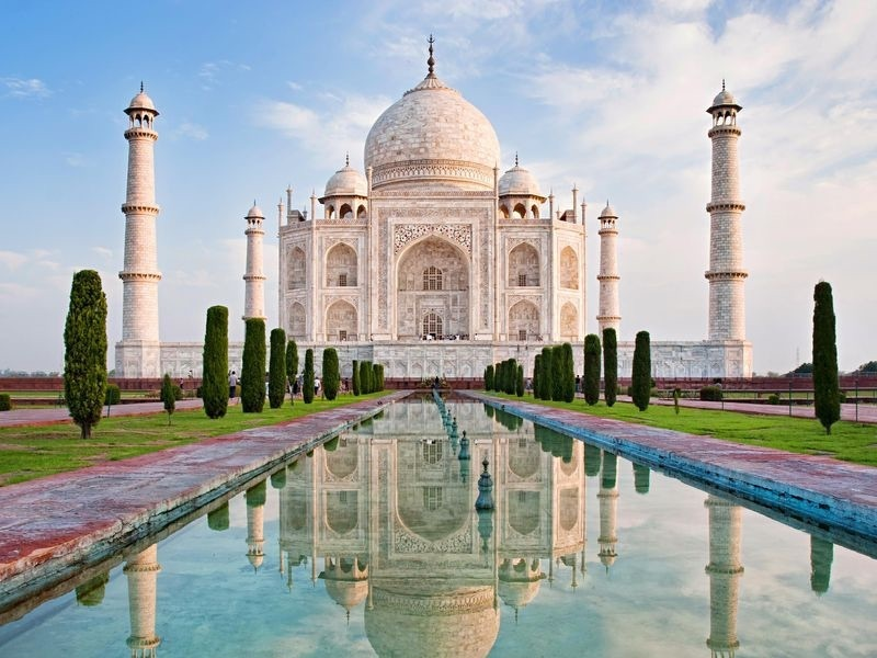 place, india, and vacay image