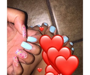feet, manicure, and hands image