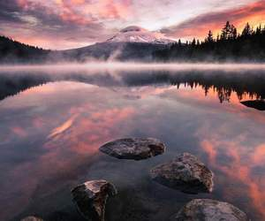 amazing, lake, and clouds image
