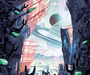cartoon, graphic novel, and steven universe image