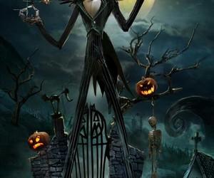 art, Halloween, and jack skellington image
