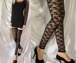 etsy, thigh highs, and designs by loure image