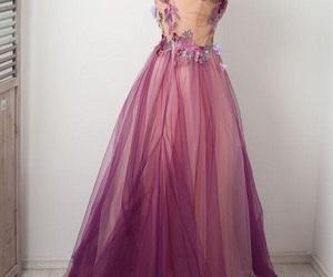 dress, cute, and purple image
