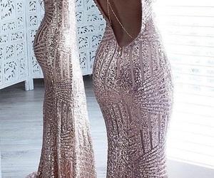 dress, moda, and graduation image