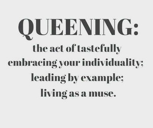 Queen and quote image
