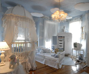 nursery, baby, and room image