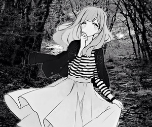 anime, Blanc, and fan art image